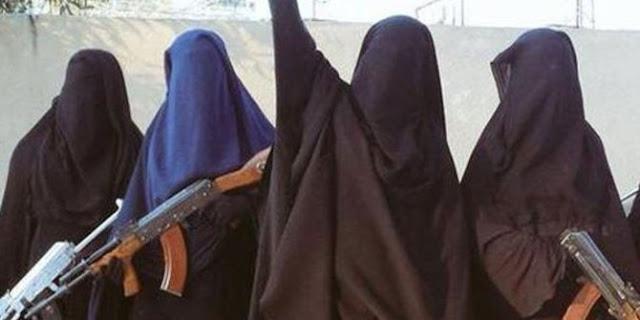 `Sangar` Sel ISIS Beranggotakan hanya 10 Perempuan Tapi Siap Bertempur