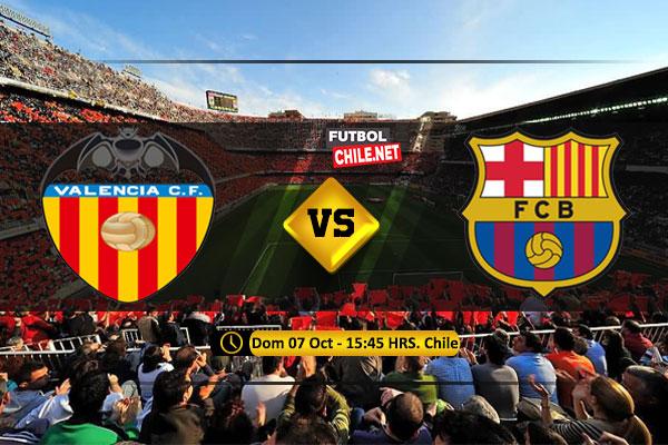 Mira Valencia vs Barcelona en vivo y online por la LaLiga