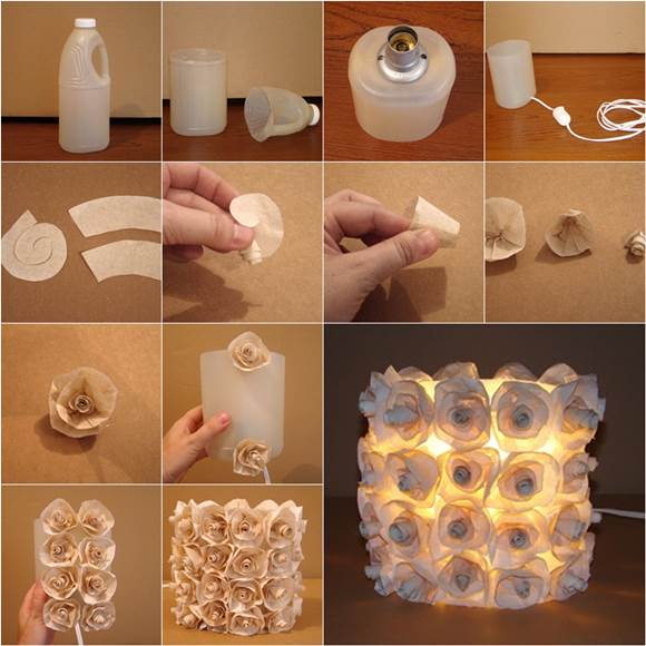 There Are Many Creative Ways To Re Purpose Plastic Bottles Into Some Useful Household Items Bottle Craft Is A Nice Way Recycle