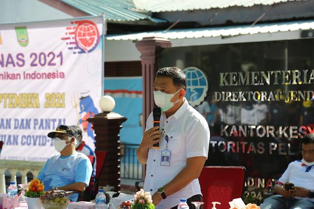 BUP BP Batam Hadiri Perayaan Hari Perhubungan Nasional Bersama KSOP Batam