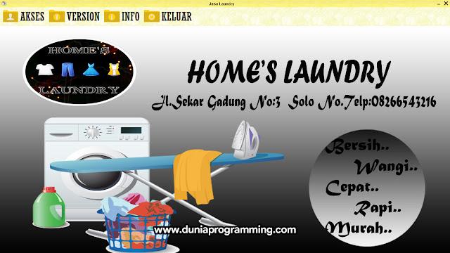 Download Aplikasi Laundry Berbasis Dekstop Menggunakan Java Netbeans Gratis