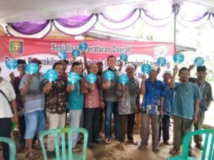 DPRD Lampung Mensosialisasikan Perda Penyalahgunaan Narkotika Kepada Masyarakat