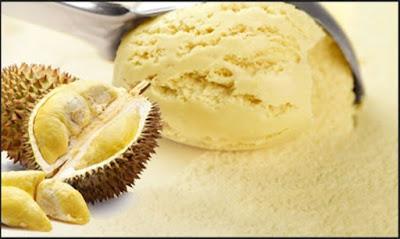 Resep Es Krim Durian
