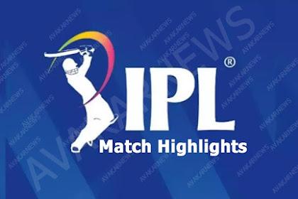 IPL 2020 Match Highlights from IPL official Website at @www.iplt20.com