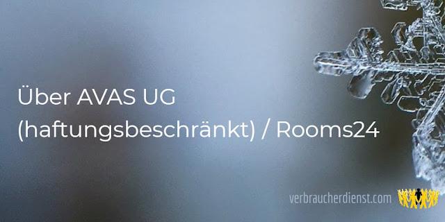 Titel: Über AVAS UG (haftungsbeschränkt) / Rooms24
