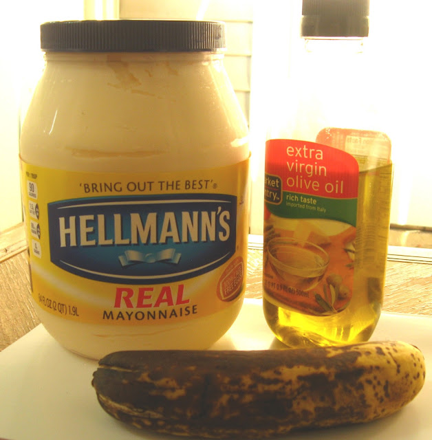 DIY – Mayonnaise Banana Hair Pack