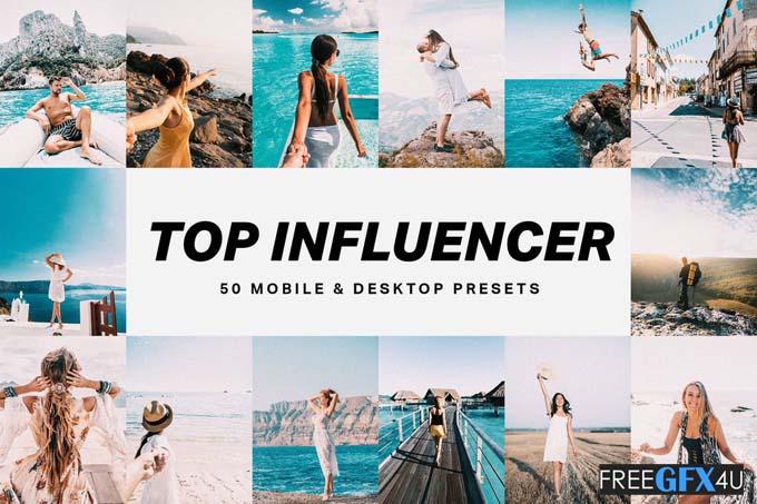 50 Top Influencer Lightroom Presets and LUTs