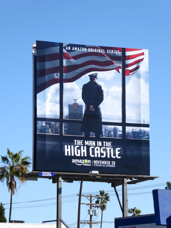 Man in the High Castle series premiere billboard