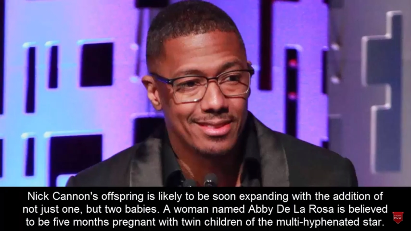 NICK CANNON EXPECTING ANOTHER SET OF TWINS WITH ABBY DE LA ROSA LESS THAN SIX MONTHS AFTER BIRTH OF HIS LAST DAUGHTER