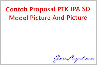 Contoh Proposal PTK IPA SD Model Picture And Picture