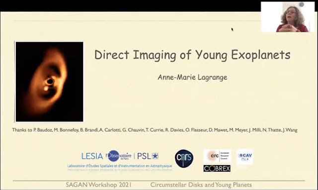 Direct Imaging of Young Exoplanets (Source: Anne-Marie Lagrange, Sagan Workshop 2021)