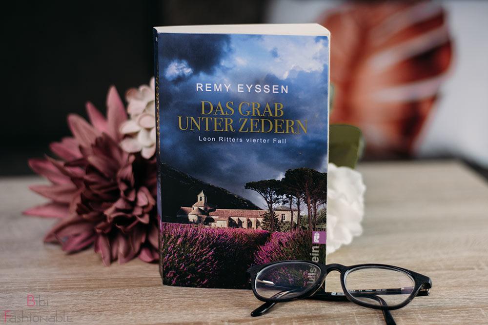 Remy Eyssen Das Grab unter Zedern Titelbild