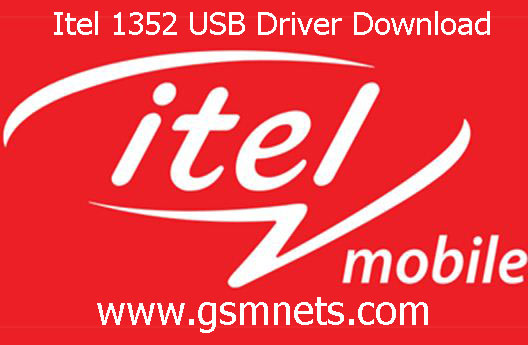 Itel 1352 USB Driver Download