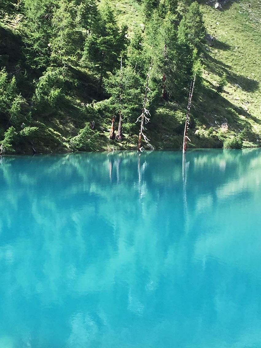 Val d'Ayas gita al Lago Blu