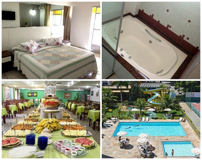 Hotéis em Cabo Frio - dica de onde se hospedar - Hotel Caribe Park