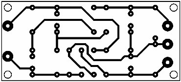 Printed Circuit Symmetrical Auxiliary Power Supply