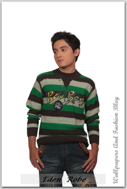 Latest Eden Robe Winter Collection For Young Boys