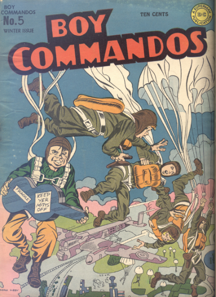 Boy Commandos 5 Simon-Kirby