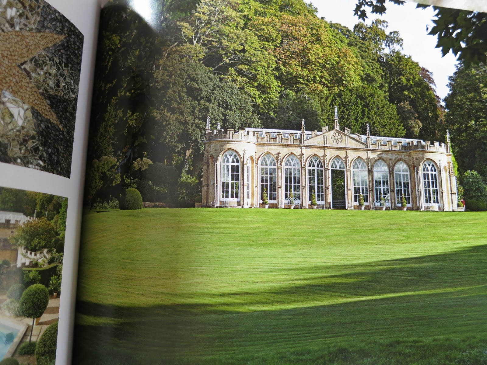 Loose and Leafy photo of p. 71 in Secret Gardens of the Cotswolds. Orangery and Daylesford House