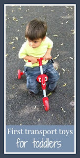 First transport toys for toddlers