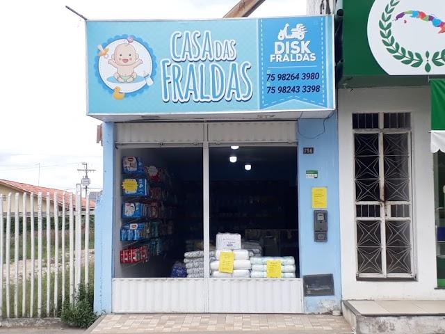 SERVIÇOS ESSENCIAIS: Casa das Fraldas informa que continua funcionando e com serviço Delivery:Saiba mais