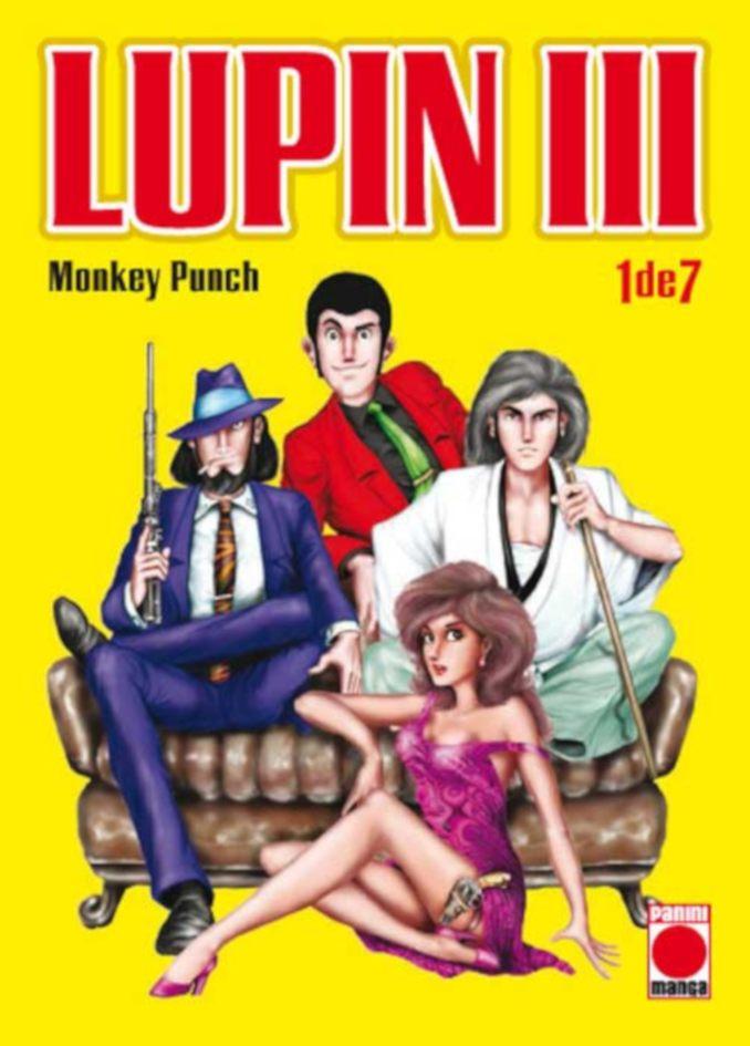 Lupin III manga Panini Cómics