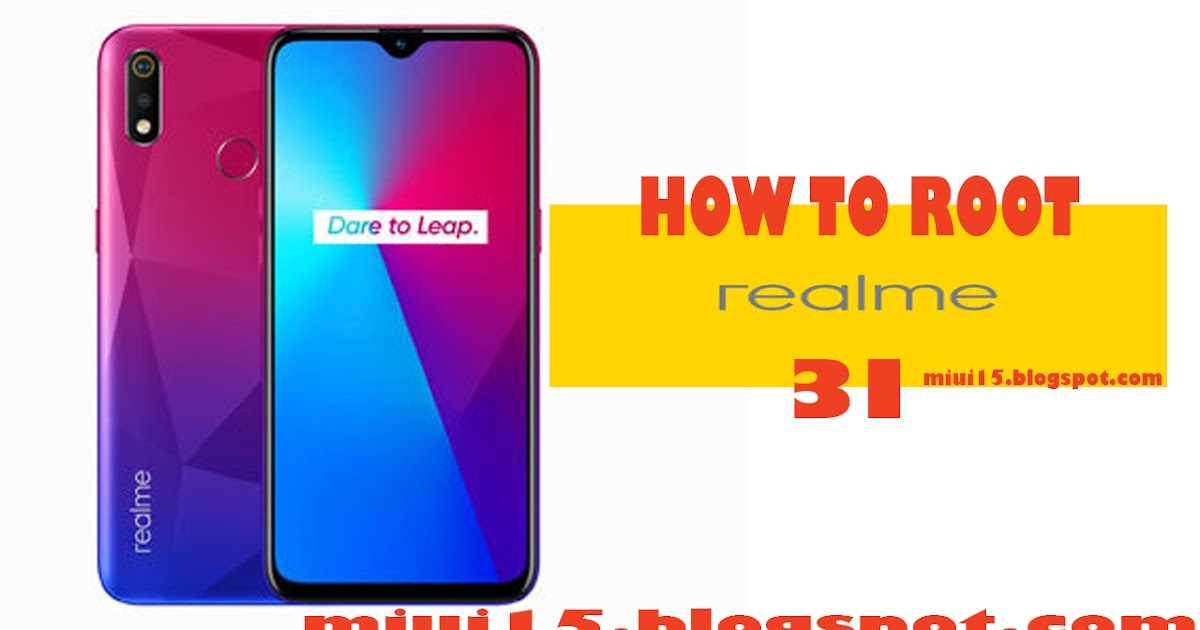 How To Root Realme 3i Unlock Bootloader Flash TWRP Recovery | MIUI15