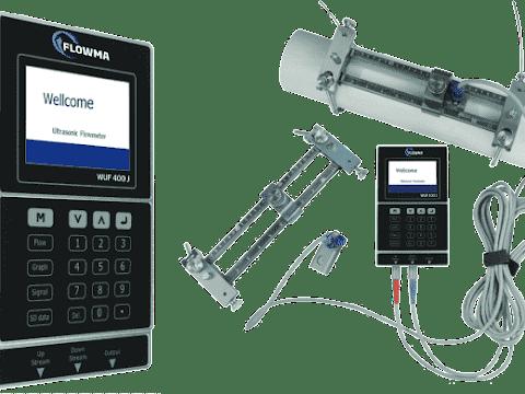Flowma WUF 400 J Portable Ultrasonic Flowmeter