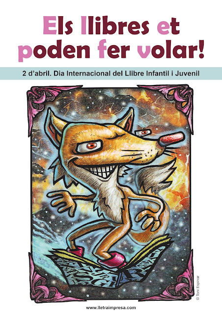 2 d'Abril. Dia Internacional del Llibre Infantil i Juvenil
