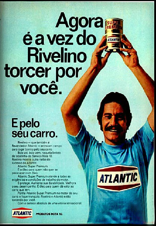Atlantic.  brazilian advertising cars in the 70. os anos 70. história da década de 70; Brazil in the 70s; propaganda carros anos 70; Oswaldo Hernandez;