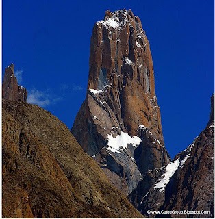 The Great Trango Tower, 6,286 m (20,608 ft).