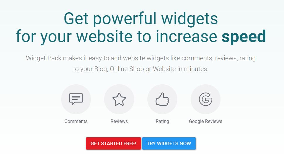 Cara Daftar Plugin Komentar Widget Pack (widgetpack.com)