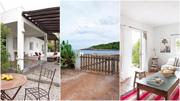 Casa con decoración mediterránea