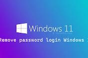 Menghapus password login pada Windows 11