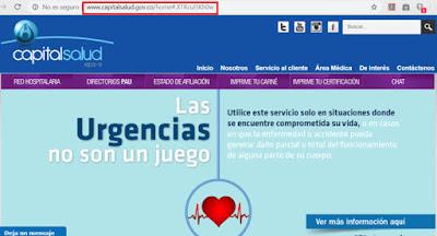 certificado de afiliación capital salud 2020