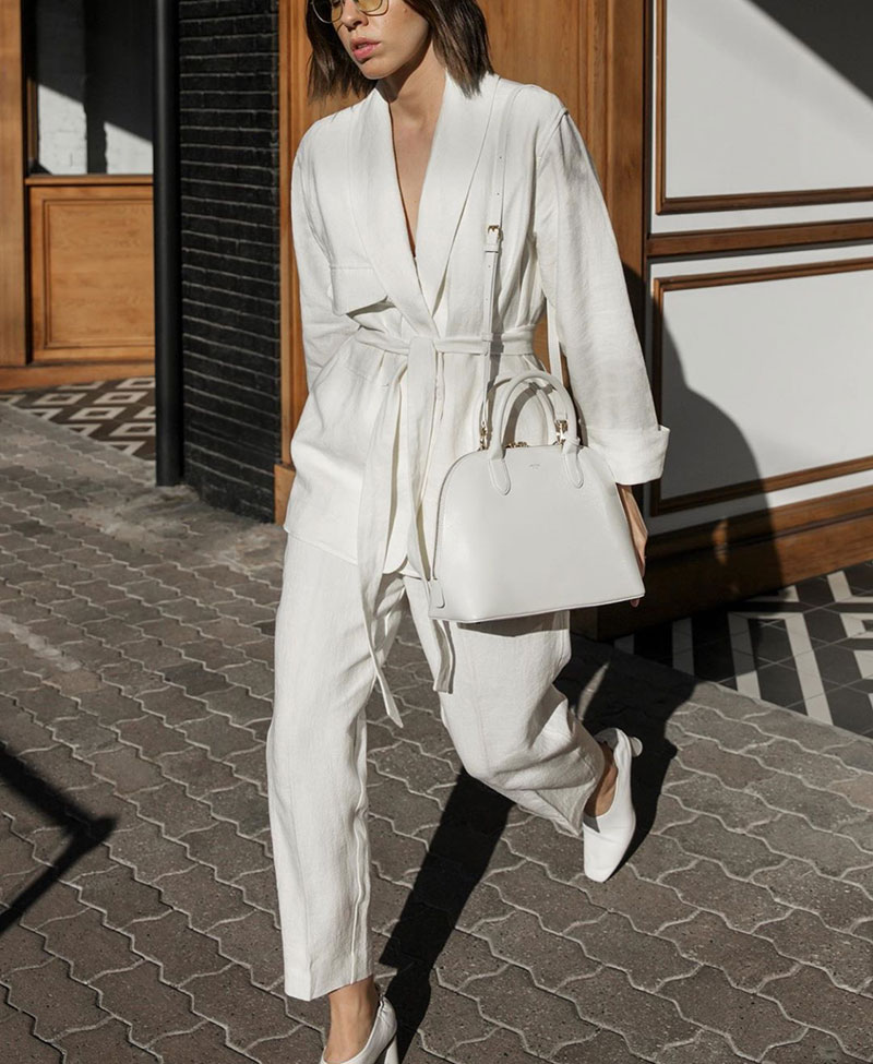 Autumn Style: Silk and Slips & October Whites