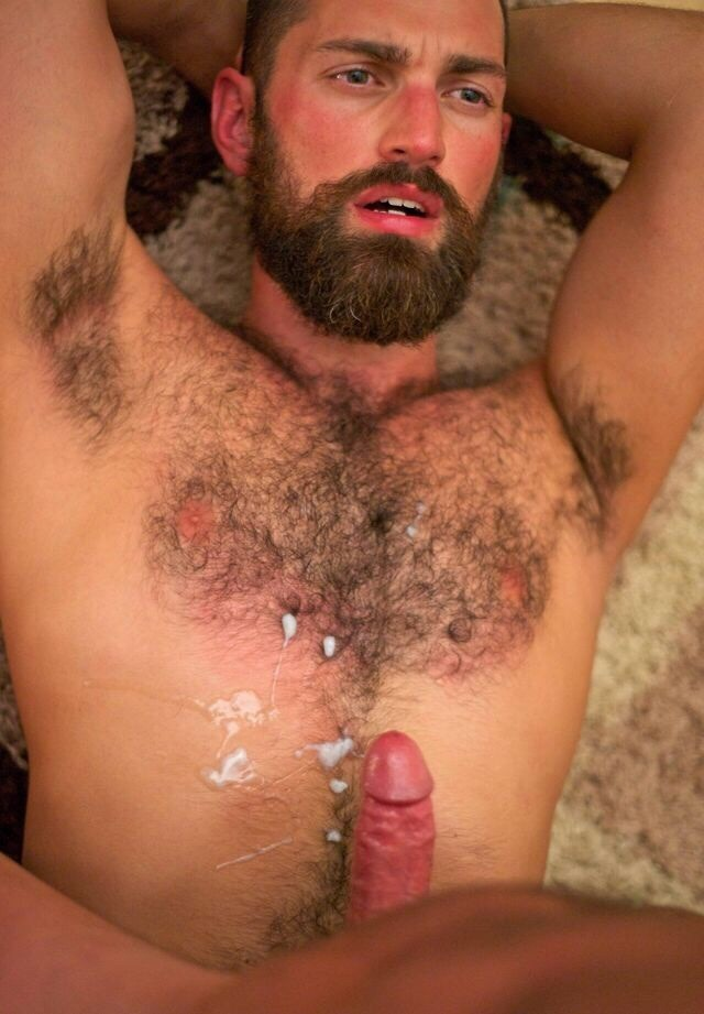 Hairy men cumshot picture gay he deepthroats knobs like there's no