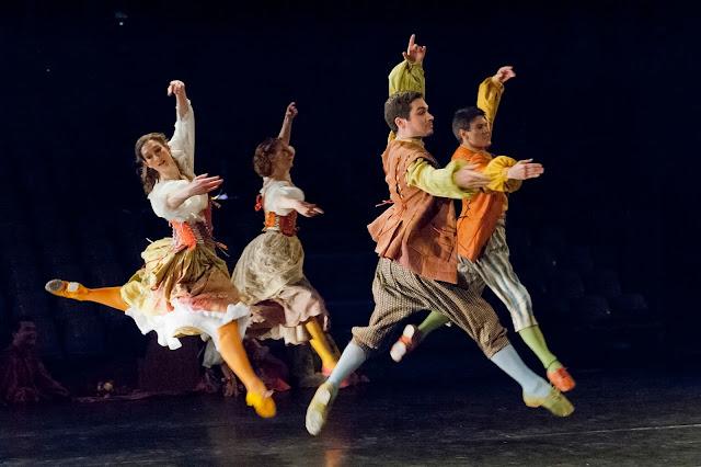 Rameau, maître à danser