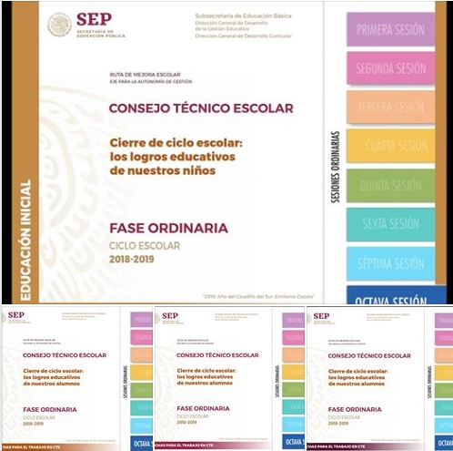 Fichas de Octava Sesion CTE