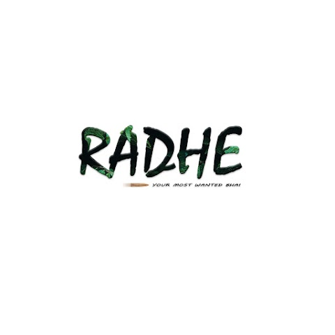 Radhe Movie Text PNG Free Stock For Editing [ Download ]