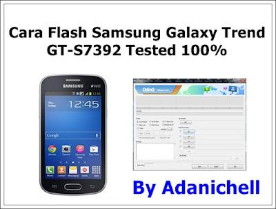 Cara Flash Samsung Galaxy Trend GT-S7392