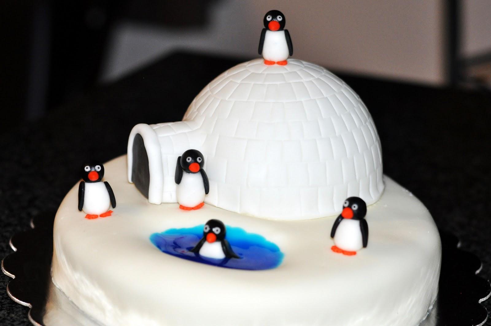Penguin Cake Decorations Uk