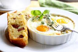 Resep Baked Egg Spesial Italia