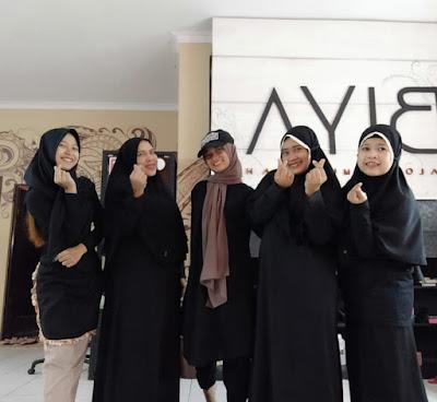 biya salon muslimah di bandung