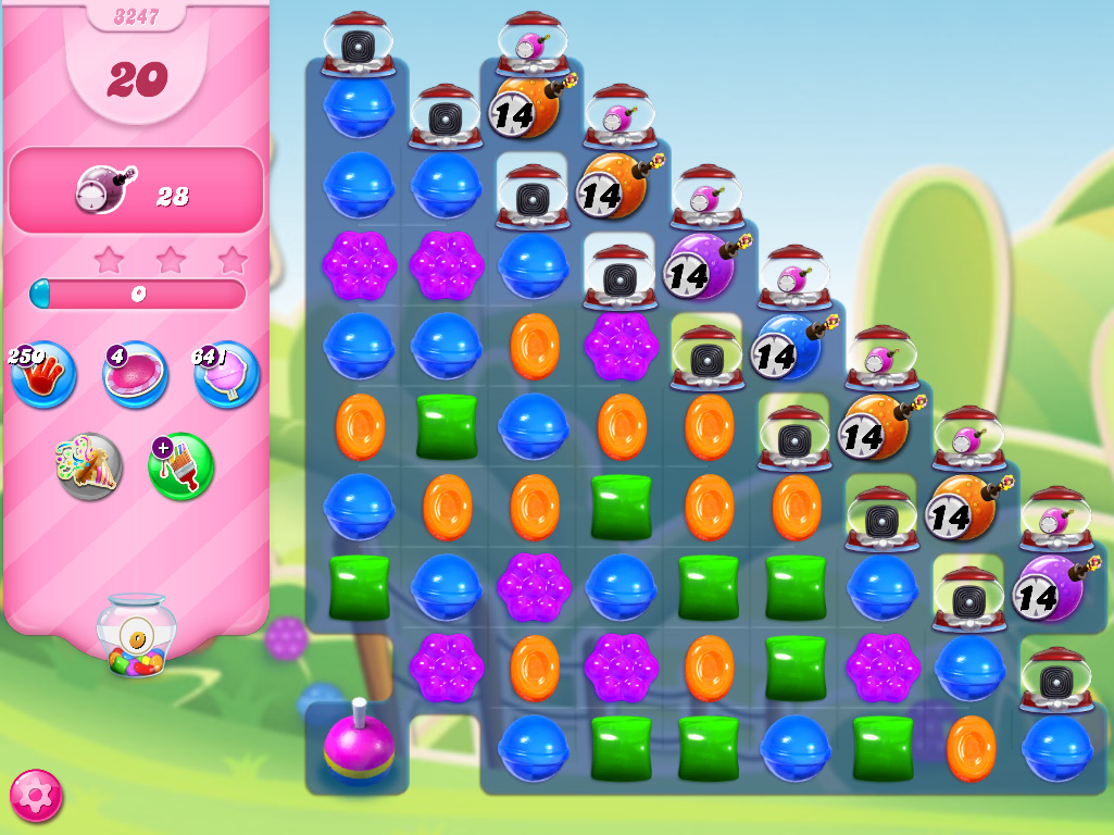 Candy Crush Saga level 3247