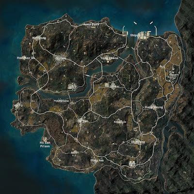PUBG TAEGO MAP के बारे में पूरी जानकारी