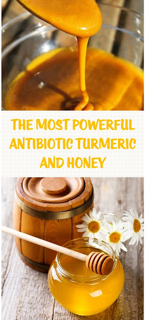 The Most Powerful Antibiotic Turmeric and Honey
