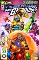 Os Novos 52! Lanterna Verde - Os Novos Guardiões #4