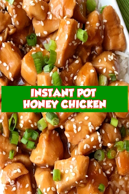 #INSTANT #POT #HONEY #CHICKEN