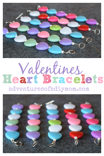 Colorful Valentine Heart Bracelets